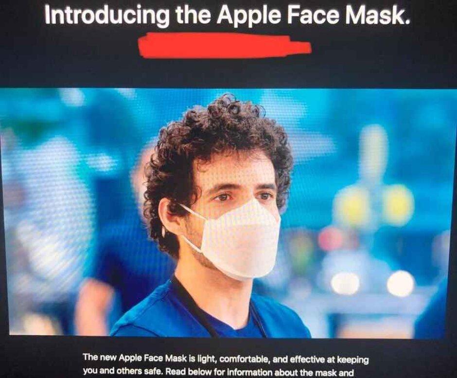 iPhone和iPad的設計團隊已經為蘋果員工開發了口罩