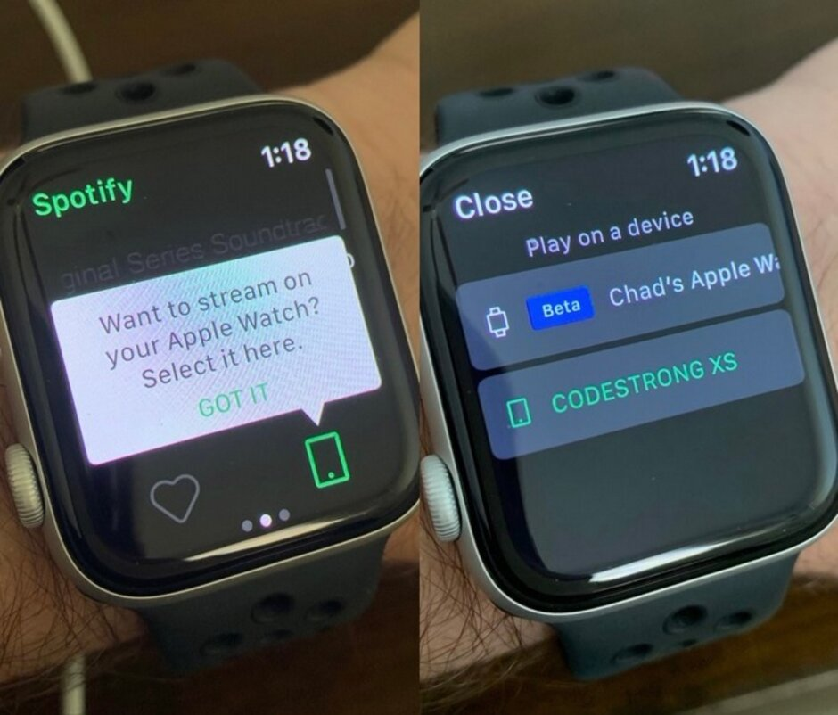 Apple Watch用戶現在可以在不帶iphone的情況下從Spotify上流媒體音樂